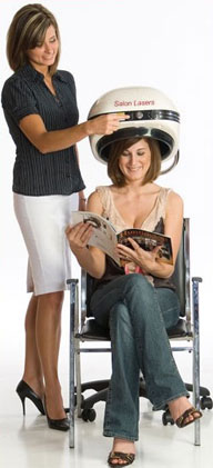 Laser hair loss treatment therapy. Comack, Levittown NY